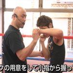 三谷大和ボクシングDVDを見て、たまに練習しています。